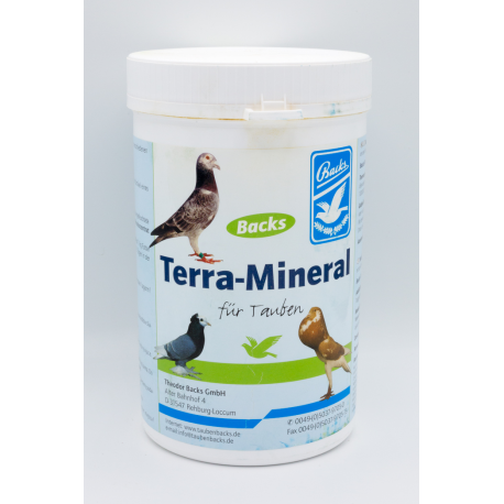 Backs Terra Mineral 1kg