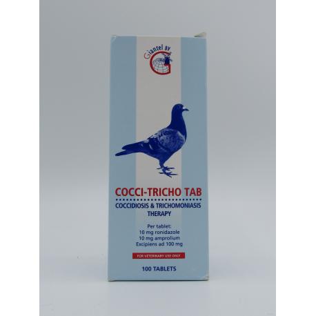 Giantel Cocci Tricho 100 tab