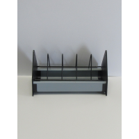 9.5 inch plastic feed trough