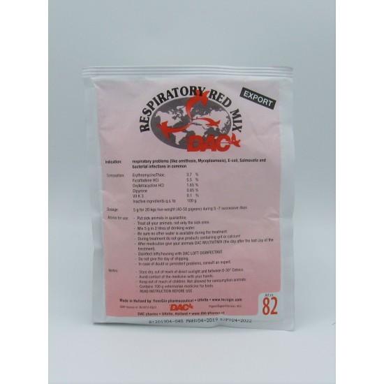 DAC Respiratory Red Mix 100g
