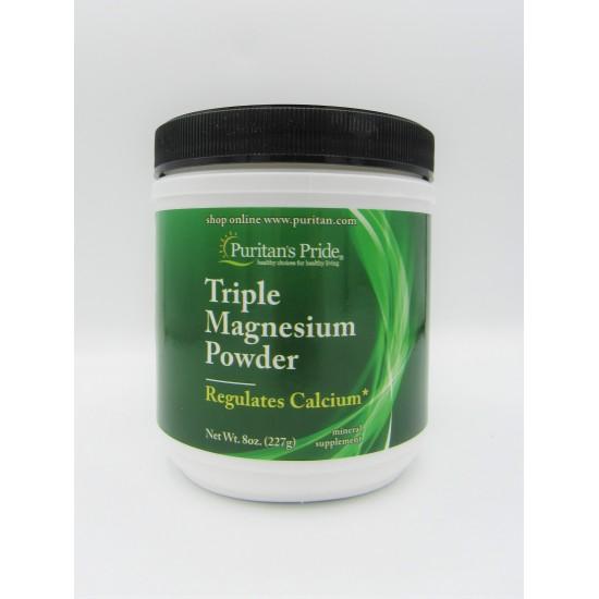 Puritan's Pride Triple Magnesium Powder
