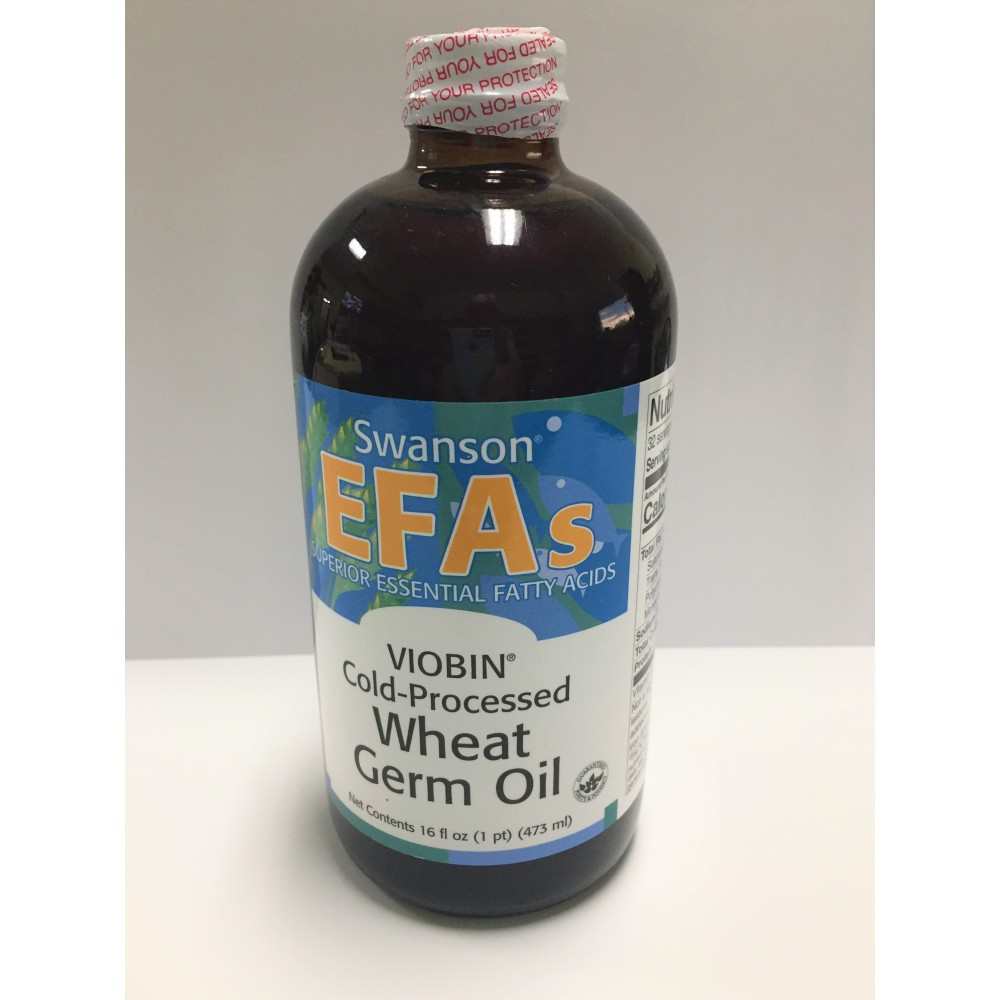 Swanson EFAs Viobin Cold-Processed Wheat Germ Oil