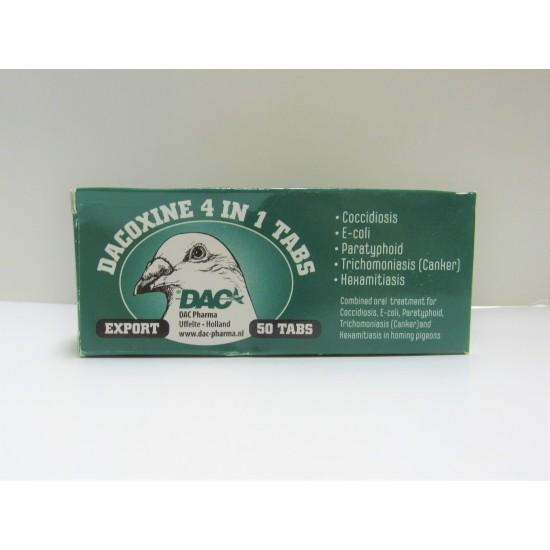 DAC Dacoxine 4 in 1 50 tab