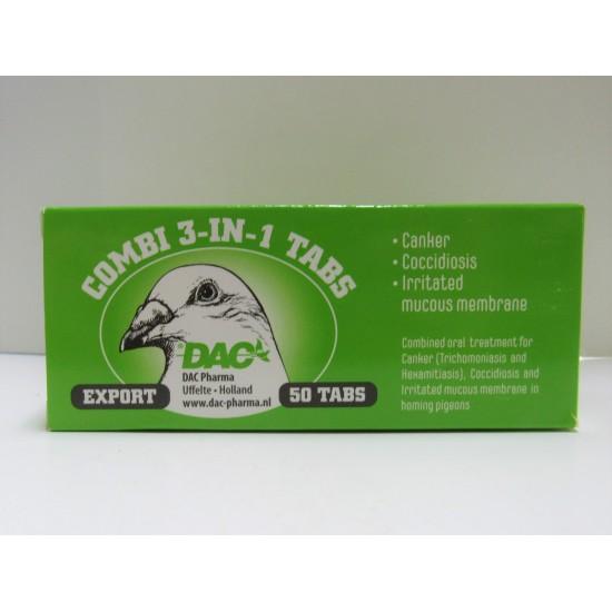 DAC Combi 3 in 1 50 tab